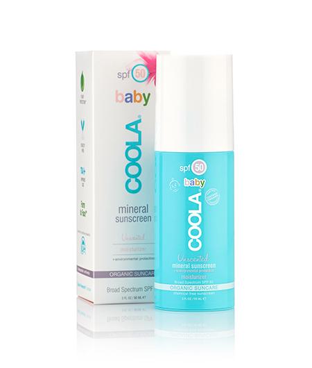 Coola FPS 50 pour bébé