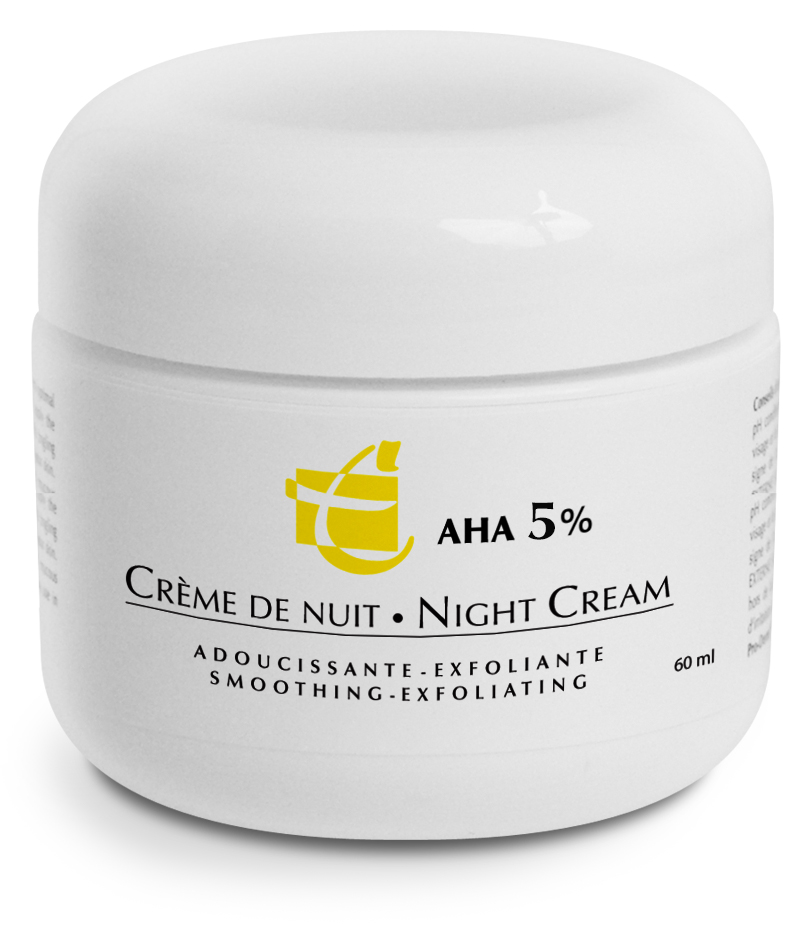 cr me de nuit 5 cr me de nuit exfoliante pro derm 5 pro derm. Black Bedroom Furniture Sets. Home Design Ideas